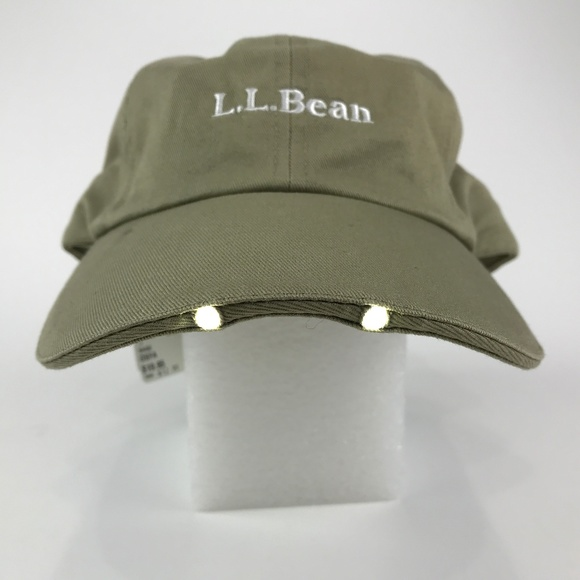 d8e53cc67e19b L.L.Bean Pathfinder LED Lighted Baseball Hat